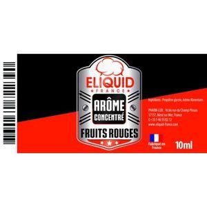 LIQUIDE Arôme Fruits rouges 10ml - Eliquid France