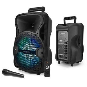 ENCEINTE ET RETOUR Enceinte KoolStar SPACER08 karaoke autonome batter