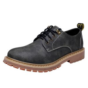 DERBY Homme Chaussure de Cuir Casual Simple Mode Derby C