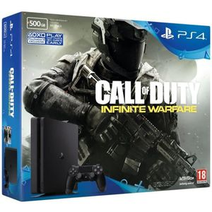 CONSOLE PS4 PS4 500 Go + Call of Duty Infinite + PSN 14 Jours