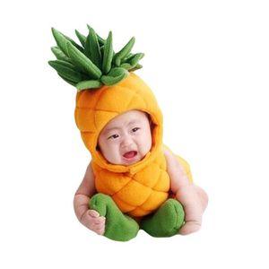 COFFRET CADEAU Bébé Costumes de photographie en Forme d'ananas Te