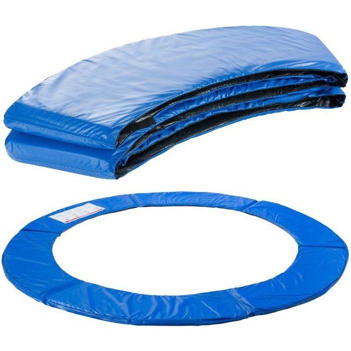 AREBOS Coussin de Protection des Ressorts Pour Trampoline 183 cm Bleu