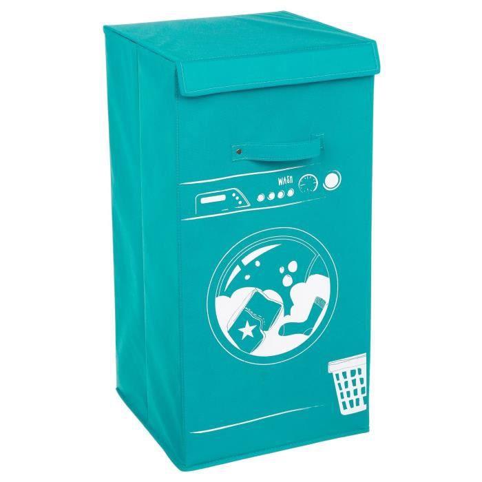 Panier à linge Machine - Bleu
