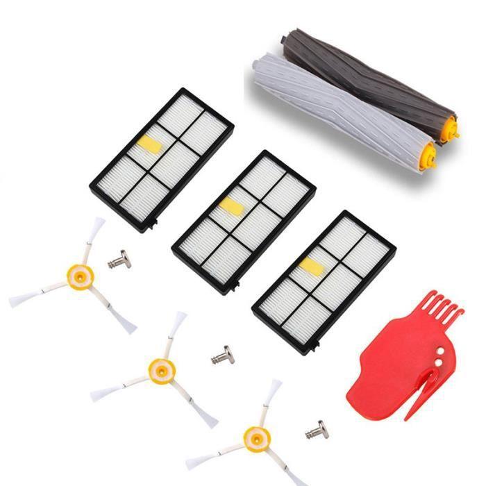 Kit de Remplacement pour kit de Réapprovisionnement iRobot Roomba Série 800/900 pour 800/900 805 860 861 865