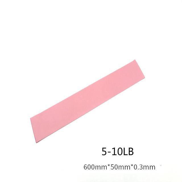 Fitness résistance exercice gymnastique musculation équipement d'exercice Pilates élastique - Rose clair