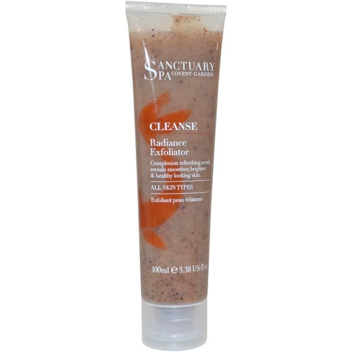 Sanctuary Spa Exfoliator Radiance CLEANSE Gommage Visage 100 ml Tous types de peau