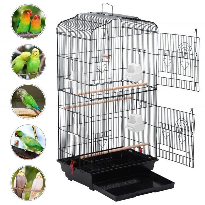 ZooBox Sophia Cage à oiseaux sur pied