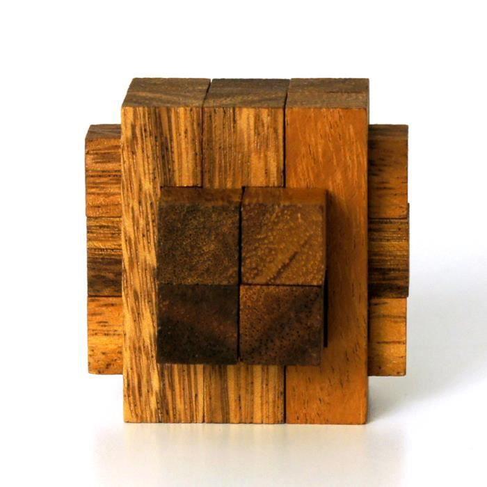 Casse-tête en bois - La Croix de 13 Pièces S - ( Complexité: 3-5 )