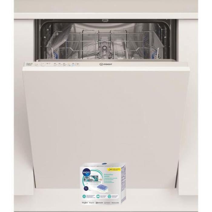 INDESIT Lave-vaisselle tout intégrable encastrable 49dB 13 COUVERTS 60cm 5 Programmes