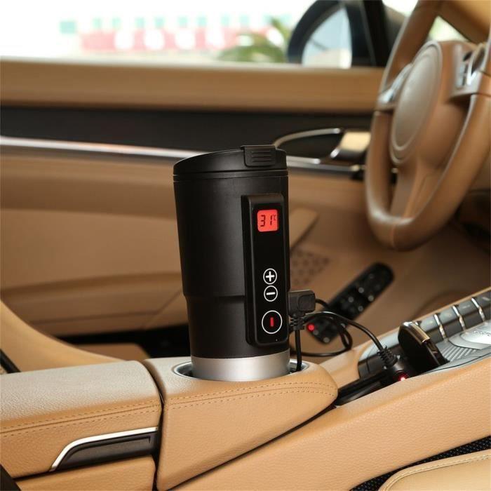 Bouilloire Portable de contrôle de température intelligent de voiture verte GL14001 (noir)