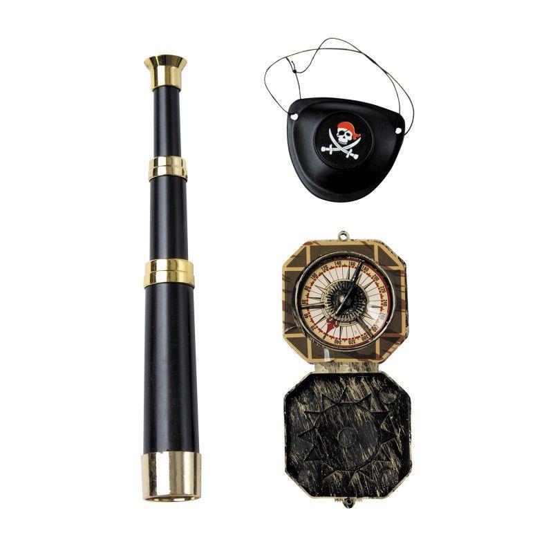 Set 3 accessoires Pirate
