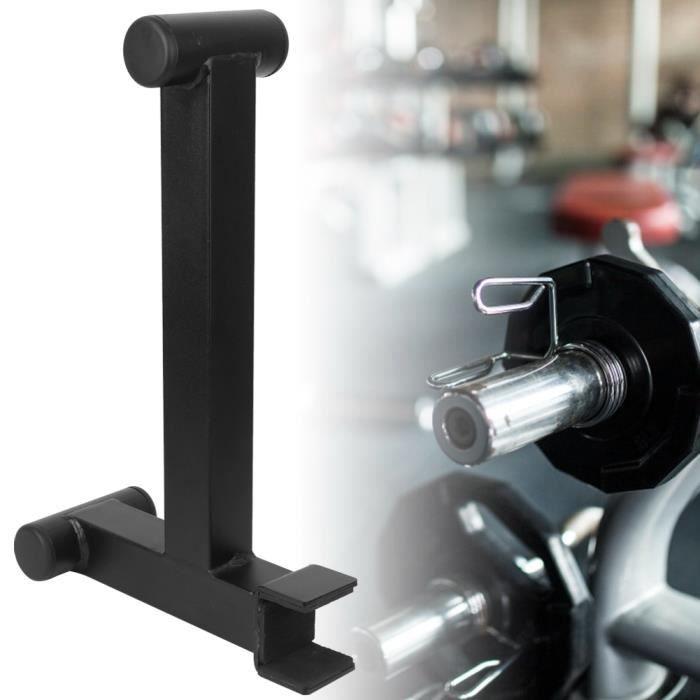 Lanqi- Haute Qualité En Acier Exercice De Remise En Forme Mini Deadlift Barbell Jack Bar Rod Accessoire