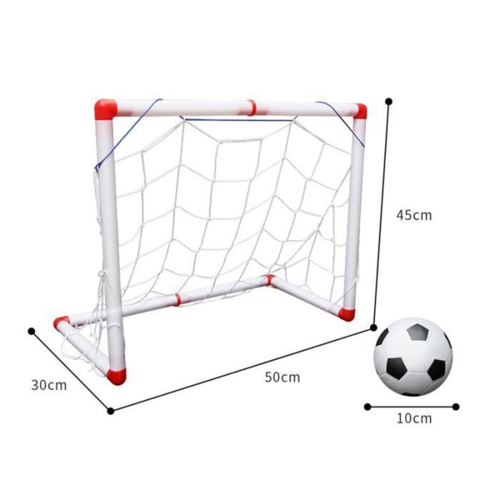 1 ensemble de filet de football portable intérieur durable robuste mini de pliant pour enfants MINI CAGE - MINI BUT