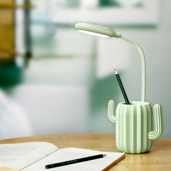 LAMPE A POSER Pen Holder Table LED Lampe de bureau Protection de