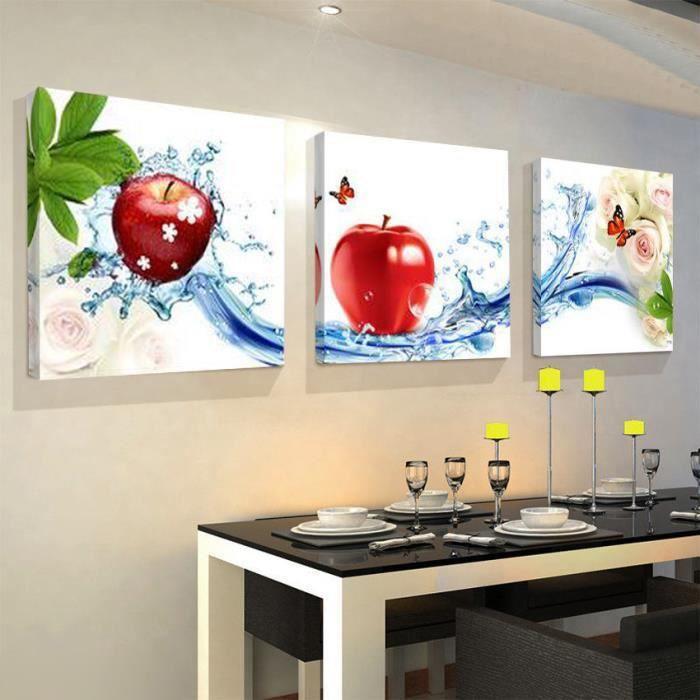 Cuisine Maison Décoration Murale Peinture Modulair Achat