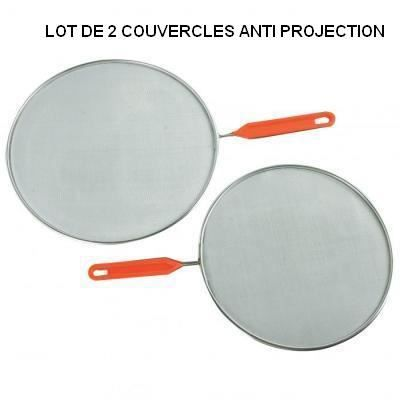Couvercles anti projection x2 achat vente anti - Anti projection cuisine ...