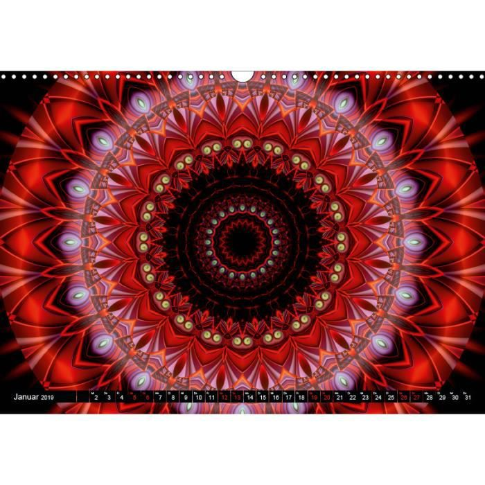 Calendrier Mandala d'énergie Stärk A3 paysage   Achat / Vente