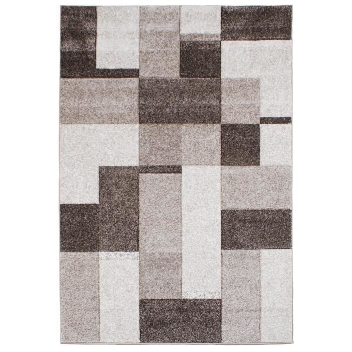benuta tapis couture gris 160x230 cm achat vente tapis cdiscount. Black Bedroom Furniture Sets. Home Design Ideas