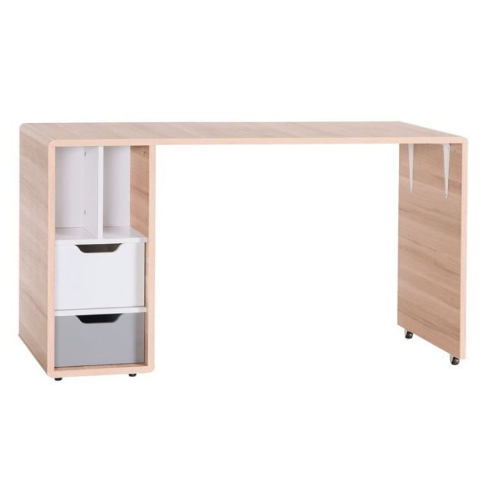 bureau enfant amovible avec caisson evolve achat vente bureau b b enfant cdiscount. Black Bedroom Furniture Sets. Home Design Ideas