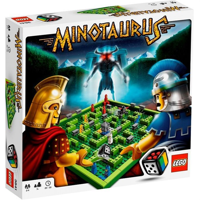 ASSEMBLAGE CONSTRUCTION Lego  Minotaurus
