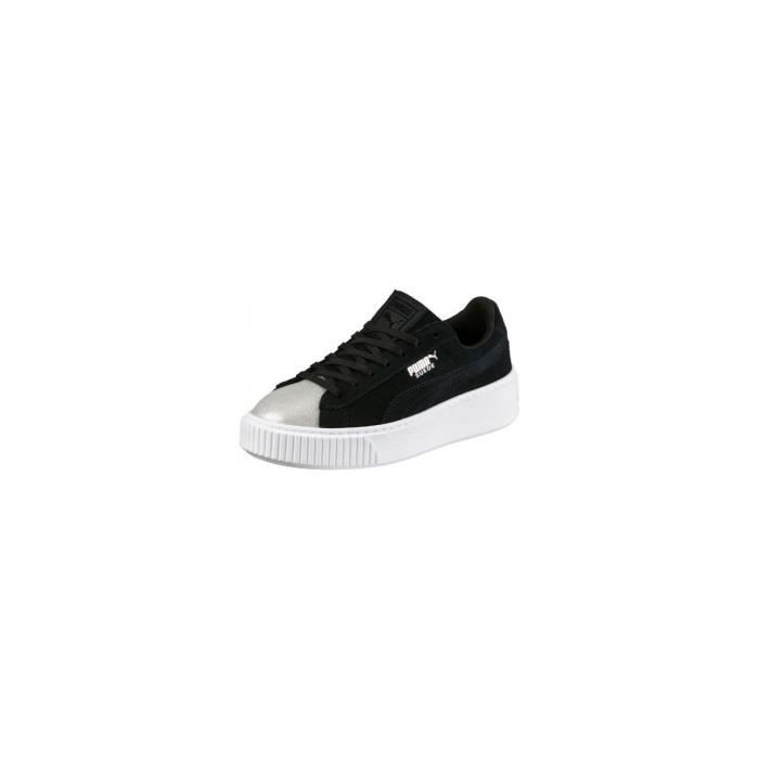 new product 11379 38609 Baskets Puma Suede Platform Glam Jr - 36492103