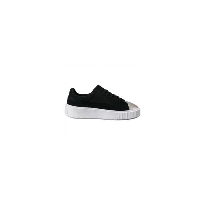 Baskets Puma Suede Platform Glam Jr - 36492103