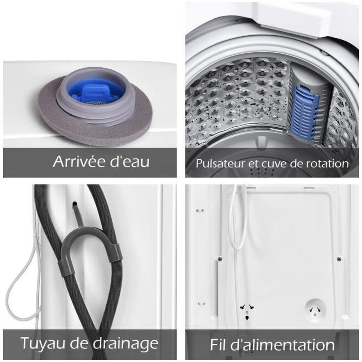 Tuyau De Remplissage pour Lave-Linge 2,5 M Bleu