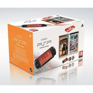 CONSOLE PSP PSP STREET GOD OF WAR + GTA VICE CITY