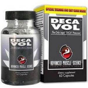 STIMULANT HORMONAUX Ams Decavol 63 Capsules Strongest Testosterone Boo