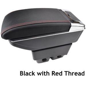 Pour V olkswagen Polo 9N 2010-2017 Voiture Accoudoir Accessoire Avec porte-gobelet Cendrier amovible Beige