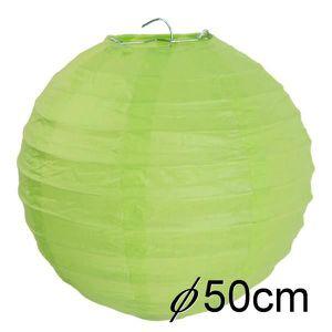 KIT DE DECORATION Boule papier mariage 50cm vert anis Lot de 1 lante