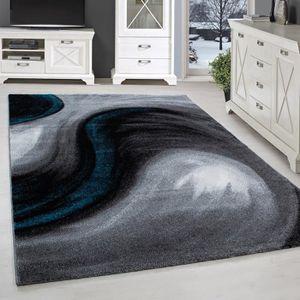 TAPIS Tapis moderne design salon chambre abstrait vagues