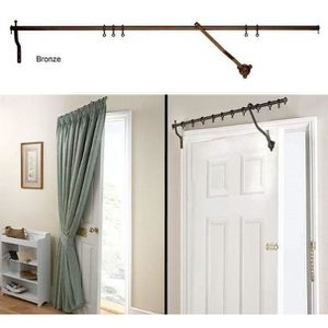 Tringle pour porte d\'entrée - Tringle pour rideau de 106cm de long ...
