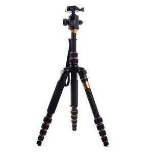 TRÉPIED Q666C Pro Carbon Fiber trépied pour appareil photo