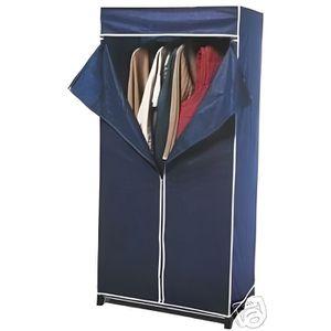 PENDERIE MOBILE penderie garde robe en tissu 160 cm