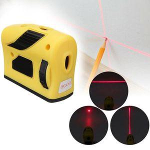 HYCHIKA 15M Autonivelant avec Deux Module Laser Niveau Laser Alternant Lignes