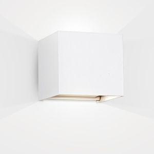 Nouveau mur monté courbé vers le haut et vers le bas à l/'extérieur ou lumière intérieure en acier inoxydable IP44