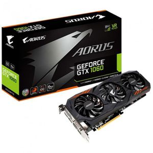CARTE GRAPHIQUE INTERNE GIGABYTE Carte Graphique  GTX 1060 NEW AORUS - GV-