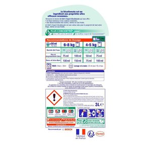 LESSIVE Le Chat L'Expert Lessive Liquide 3L - 60 lavages