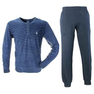 PYJAMA Survêtement de pyjama de navigation Homme chaud et