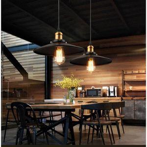 LUSTRE ET SUSPENSION STOEX® Lot de 2 Lampe Suspension Vintage E27 22CM