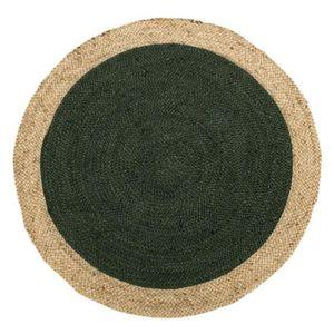 TAPIS Tapis Fibres vert 120*120 N°4 - PEALE - L 120 x l