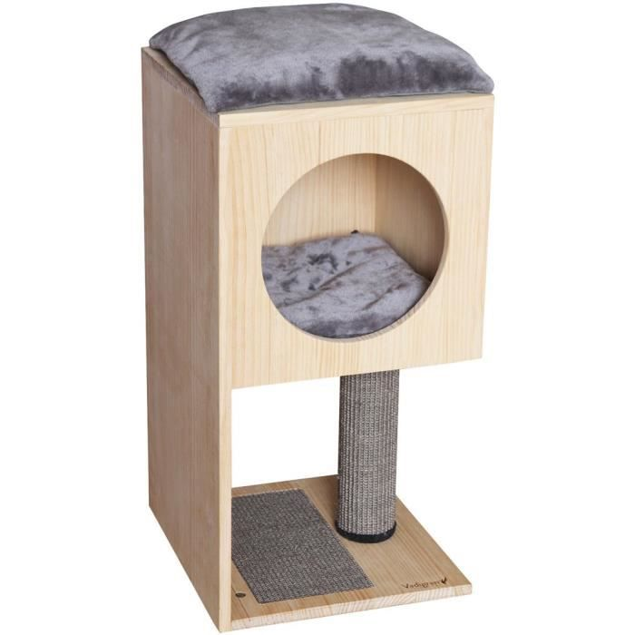 VADIGRAN Grimpoir Urban Boxy - 38x38x78 cm - Pour chat