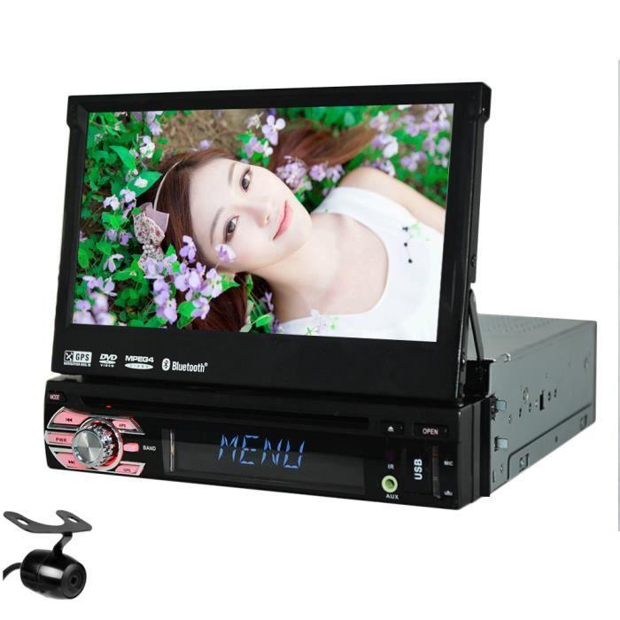 Auto Audio Autoradio CD DVD VCD Dash RDS Navigation GPS stéréo de voiture électronique Récepteur radio BT Audio seul PC din lecteur