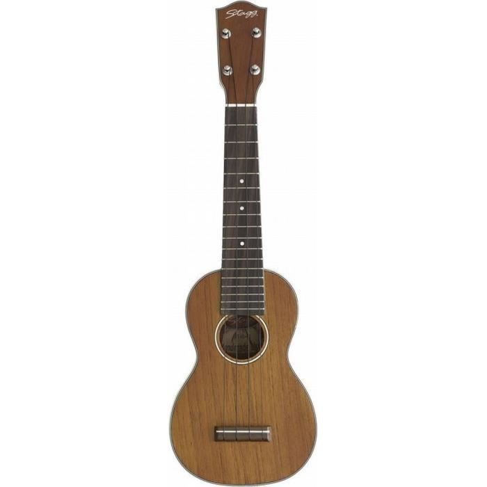 Stagg ukulele soprano traditionnel mat housse achat for Housse ukulele