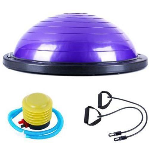 Yoga équilibre hémisphère équilibre balle ceinture exercices de force exercice à domicile hémisphère #2 violet