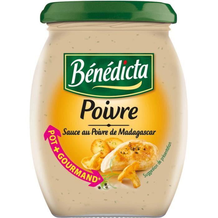 Sauce au poivre 260 g Bénédicta