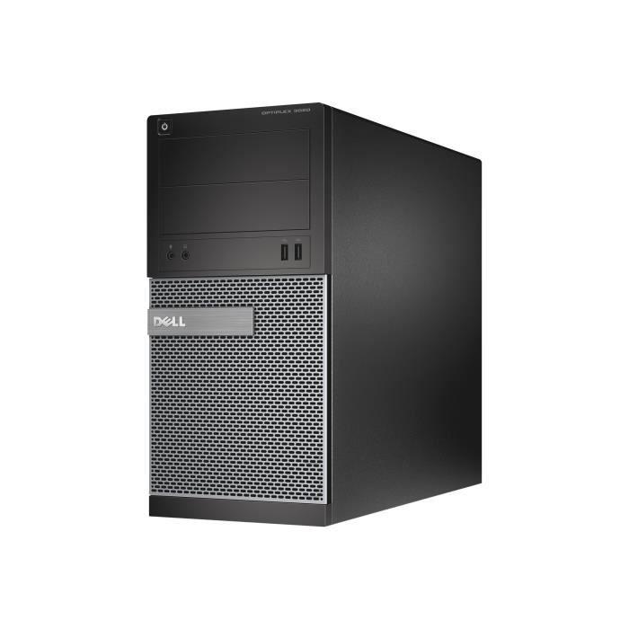 Dell Optiplex 3020 Mt 1 x Core i3 4150 3.5 Ghz Ram 8 Go Hdd 500 Go graveur de Dvd Hd Graphics 4400 Gige Win 7 Pro 64 bits...