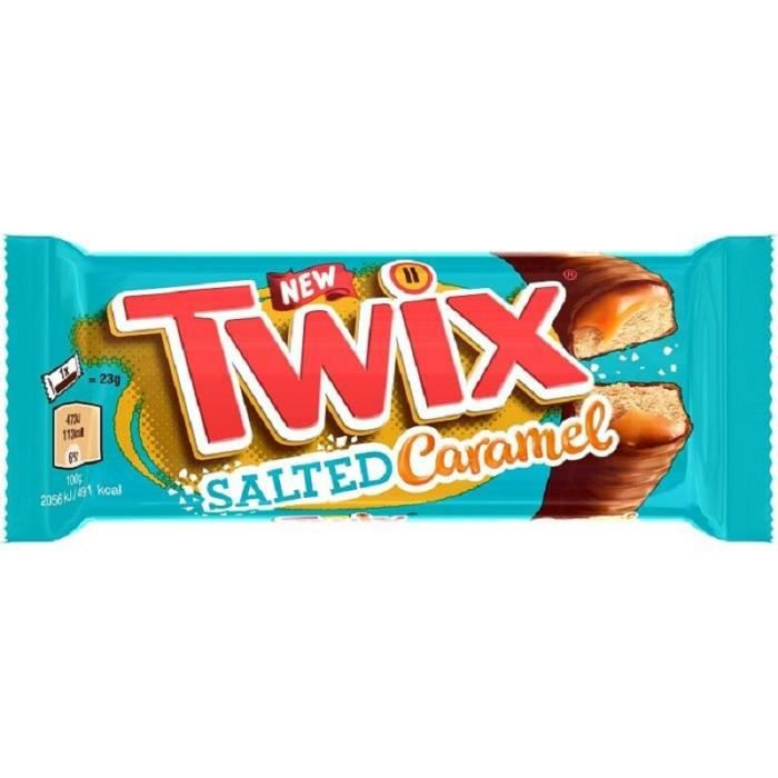 Twix Caramel Beurre Salé