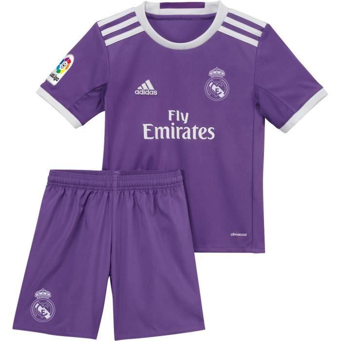 Mini-kit Extérieur Real Madrid 2016/2017